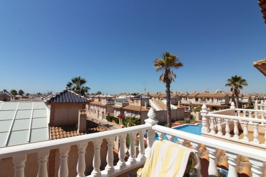 Flamingo Hills Playa Flamenca Top Floor Bungalow for sale