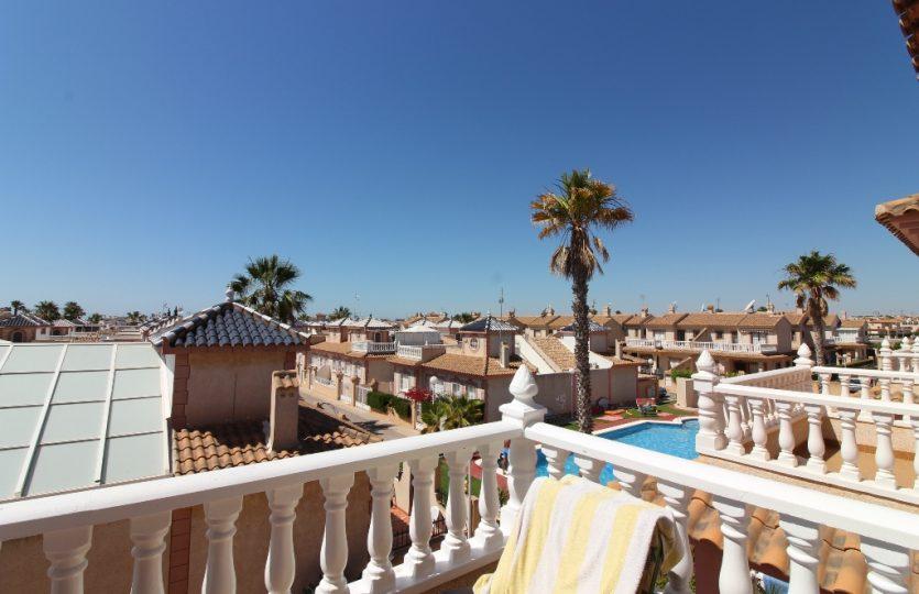 Flamingo Hills Playa Flamenca Top Floor Bungalow for sale