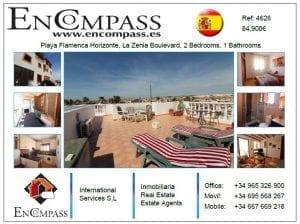 Playa Flamenca Horizonte