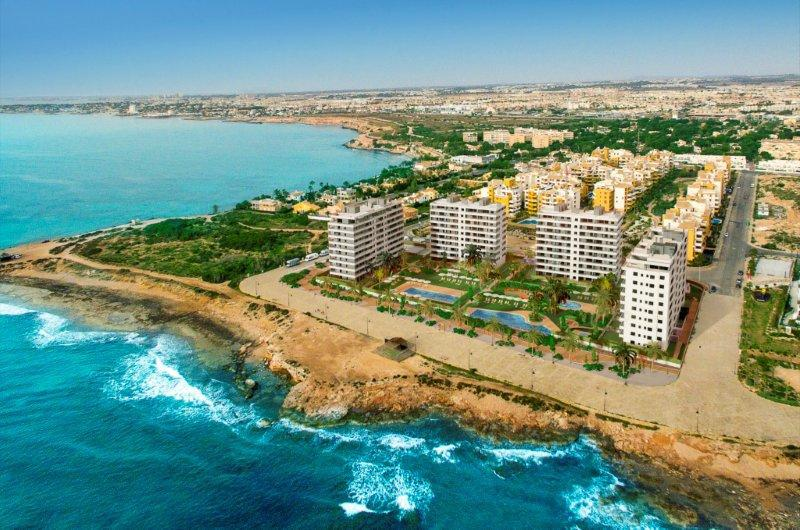 Front line beach apartments Punta Prima prices start from 375,000€