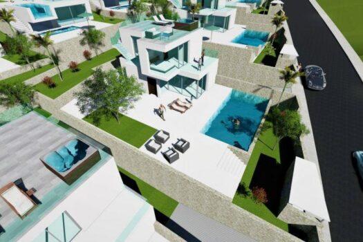 Benidorm Luxury modern style Villas