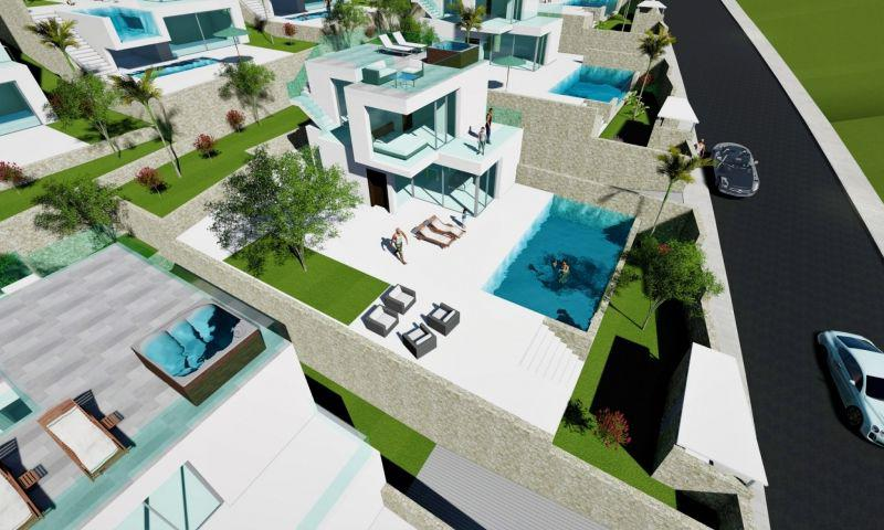Benidorm Luxury Modern style Villas from 429,000€