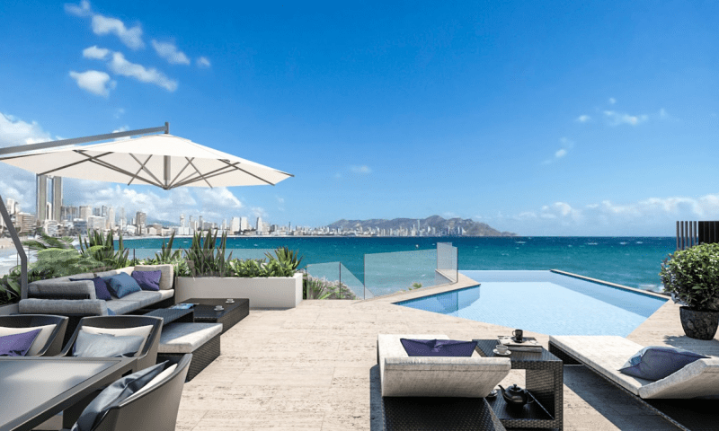 Benidorm New Luxury Penthouse 1,2000,000€