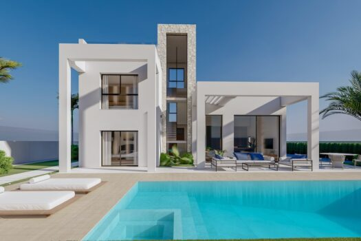 Benidorm New Luxury Villa for sale modern design