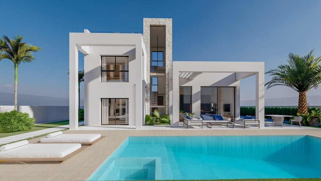 Benidorm New Villas for sale prices start from 389,900€